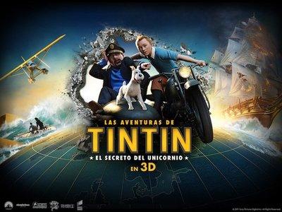 'Las aventuras de Tintín: El secreto del Unicornio', la película