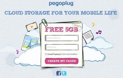 Pogoplug Cloud, un servicio que ofrece 5 GB de almacenamiento gratuito en la nube para terminales móviles y escritorio. A Fondo