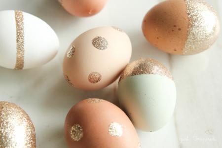 Glitter Easter Eggs6