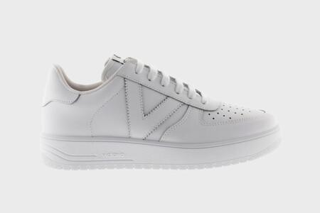 Zapatillas Victoria Siempre Sneakers Piel BlancasSIEMPRE ZAPATILLA PIEL
