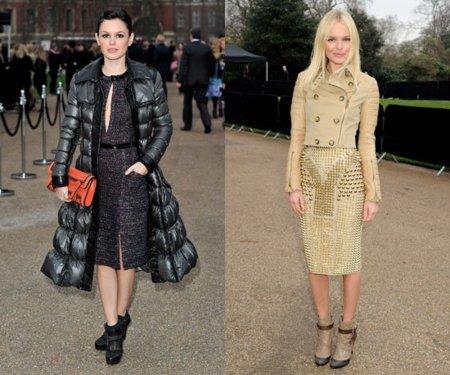 Rachel Bilson y Kate Bosworth espectaculares en la Semana de la Moda Londres