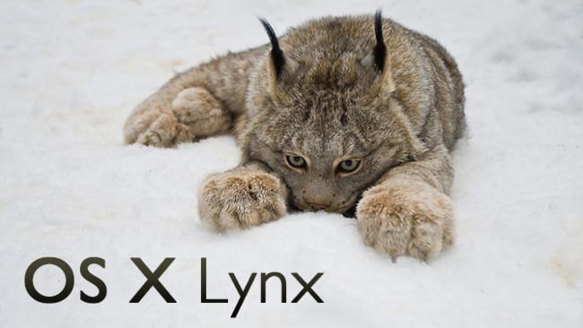 OS X 10.9 Lynx