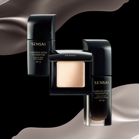 Sensai lanza Sensai Fundations, su nueva línea de maquillaje inspirada en la suavidad de la seda