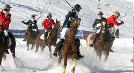 Courchevel 1850 acoge la final del torneo 'Polo Masters Tour 2011' a 2000 metros de altura