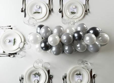 Hazlo tú mismo: un centro de mesa con globos