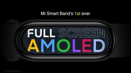 Xiaomi Mi Smart Band 6 Oficial Diseno Todo Pantalla Amoled