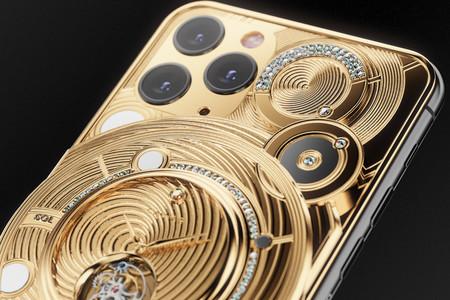 Este iPhone 11 Pro vale 70.000 dólares y está hecho de medio kilo de oro y diamantes