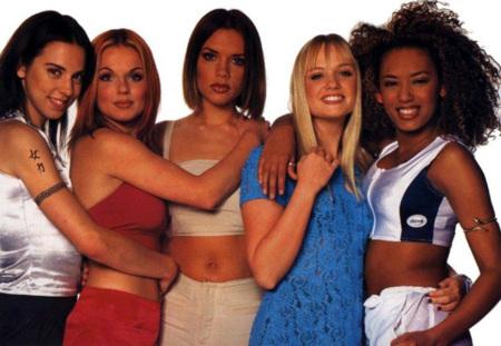 Spice Girls ombligo