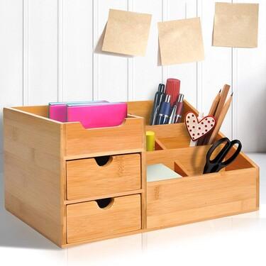 Cajas, organizadores y todo lo que necesitas para ordenar el escritorio de los niños (y que aprovechen mejor el tiempo de deberes)