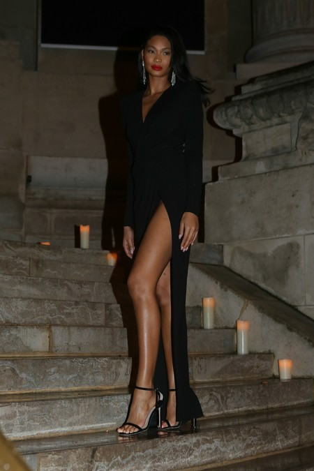 fiesta vogue paris fashion week Chanel Iman