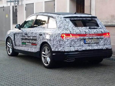 El día que un concesionario Lamborghini troleó a la prensa mundial con un Audi Q7
