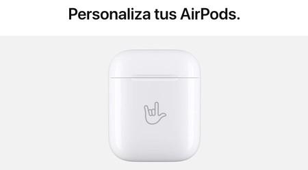 Ahora puedes añadir un grabado con emojis a los AirPods que compres en la web de Apple