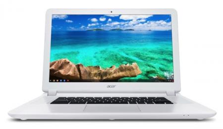 El Acer Chromebook 15 es el portátil Chrome OS más grande hasta la fecha