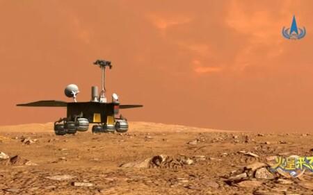 El rover Zhurong es desplegado por China en el Planeta Rojo y es todo un hito: solo Estados Unidos lo había conseguido antes