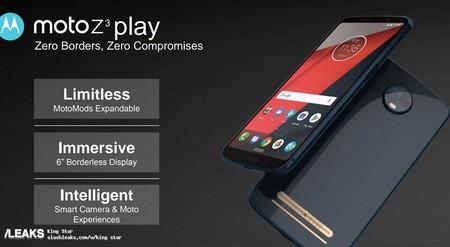 Moto Z3 Con 5g Moto X5 Con Pantalla Completa Y Moto G6 Parece