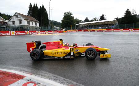 Raffaele Marciello se estrena y Felipe Nasr repite en la GP2 en Spa-Francorchamps