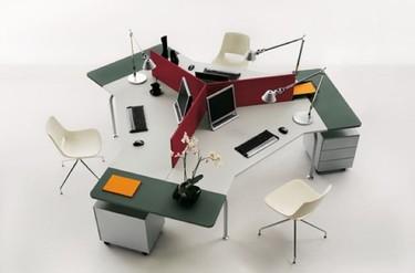 Colección Shi de escritorios para oficinas
