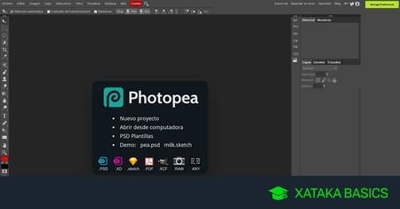 Photopea: qué es y cómo funciona esta alternativa a Photoshop online y totalmente gratuita