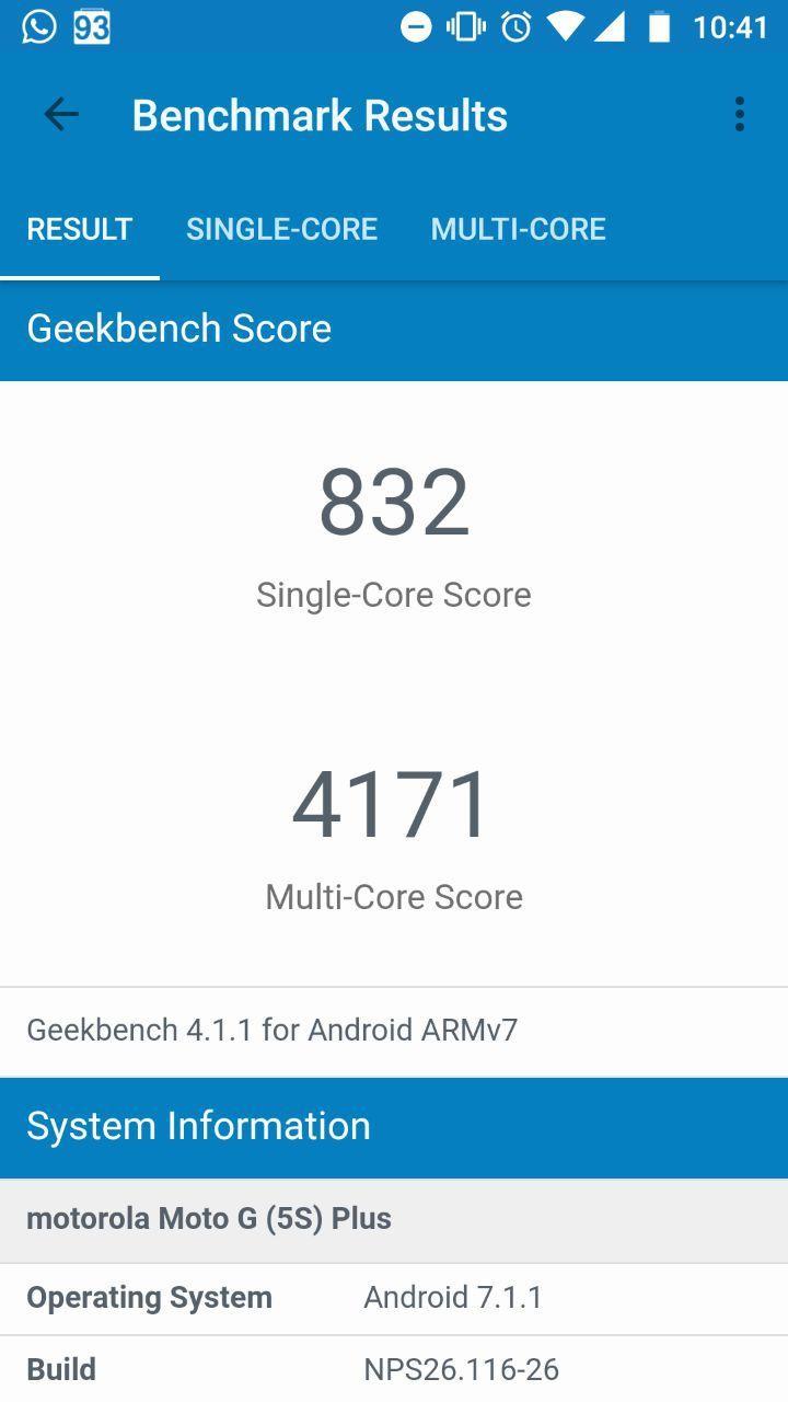 Foto de Benchmarks Moto G5S Plus (10/12)