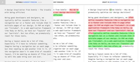 Draft editor de texto