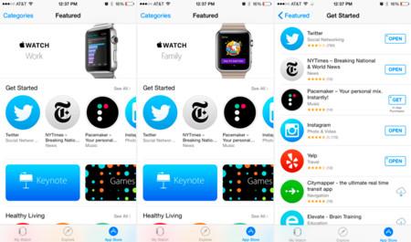 Apple Watch App Store 1