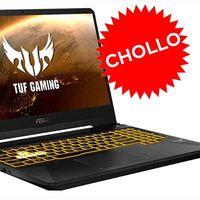 En eBay tienes un portátil gaming de gama media como el equilibrado ASUS TUF Gaming FX505DT-BQ624 a precio de ganga: sólo 569,99 euros