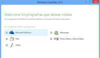 Las novedades de Windows Live Essentials 2012, a fondo