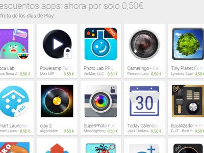 Google Play celebra su cuarto aniversario con aplicaciones rebajadas a 0,50 € y más ofertas