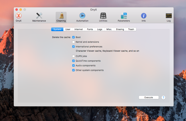 Onyx ya es compatible con macOS Sierra
