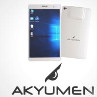 ¿Buscas una tableta con un proyector incorporado? La firma Akyumen se atreve con este concepto