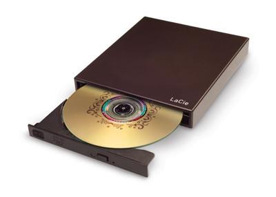 Grabadora externa de DVD de LaCie