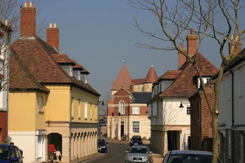 New Poundbury, probablemente el pueblo más raro de Inglaterra