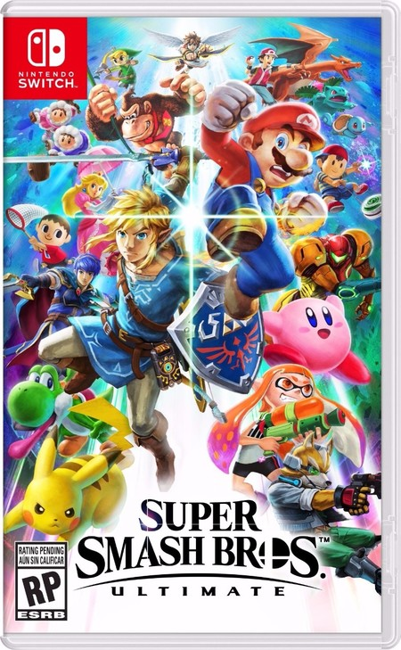 Super Smash Bros Ultimate Portada