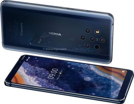 Nokia 9 Pureview Render Oficial Pantalla