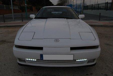 Luces diurnas en Toyota Supra
