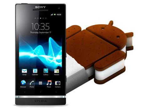 Ice Cream Sandwich empieza a llegar a los Sony Xperia S