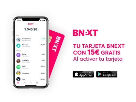 Bnext celebra El Prime Day de Amazon regalando 15 euros por darse de alta sólo durante el día de hoy