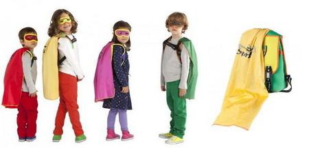 Equipamiento para la vuelta al cole de los superheroes