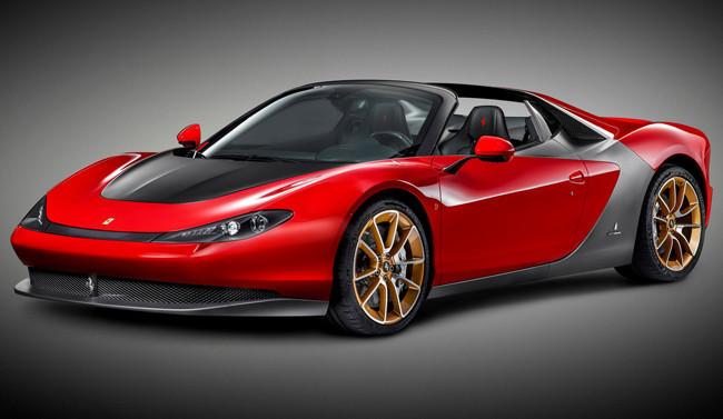 Ferrari Sergio: seis unidades en honor a Pininfarina