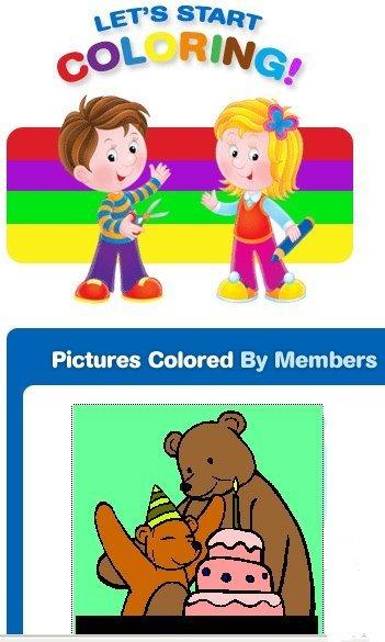 The Color, pizarra digital para colorear