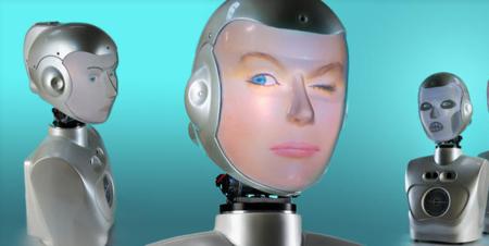 Socibot, el robot social que es capaz de replicar cualquier cara