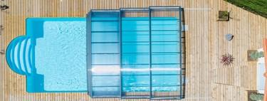 ¿Vaciar la piscina o cubrirla en estaciones frías? Esa es la cuestión