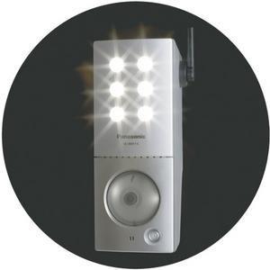 VL-W811K, cámara de seguridad con luces