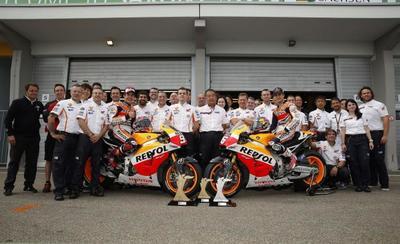 Repsol y Honda seguirán juntos hasta 2017