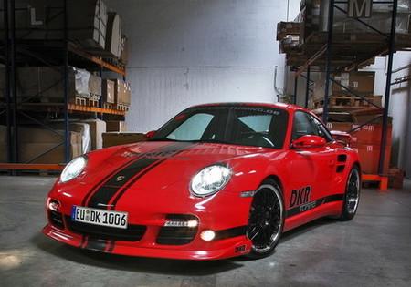 Porsche 911 Biturbo, una obra de DKR Tuning