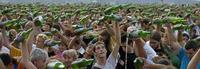 La Fiesta de la sidra en Gijón tiene nuevo récord