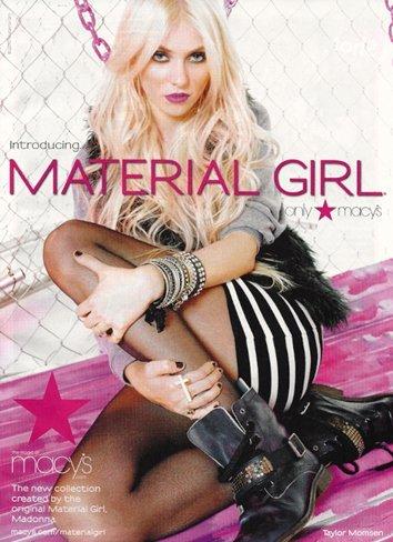Taylor Momsen es la imagen de la marca de ropa de Madonna y su hija