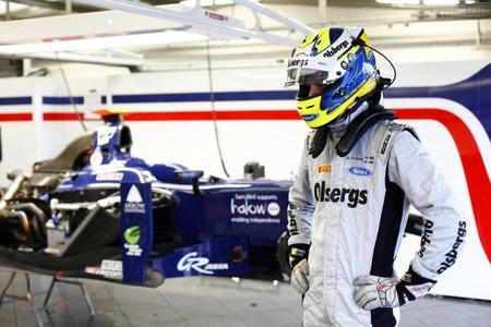 Marcus Ericsson, el más rápido el segundo y último día de pruebas de la GP2 en Silverstone
