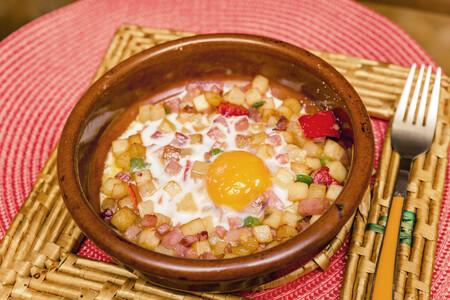Huevos Plato Patatas